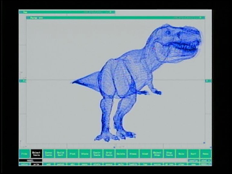 Tworzenie T-Rexa w komputerach