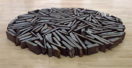 South Bank Circle 1991 by Richard Long born 1945