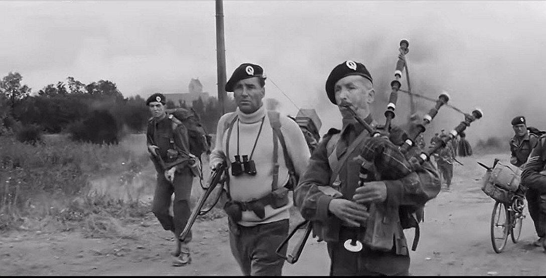 """Kadr z filmu """"Najdłuższy dzień"""" z 1962 roku"""
