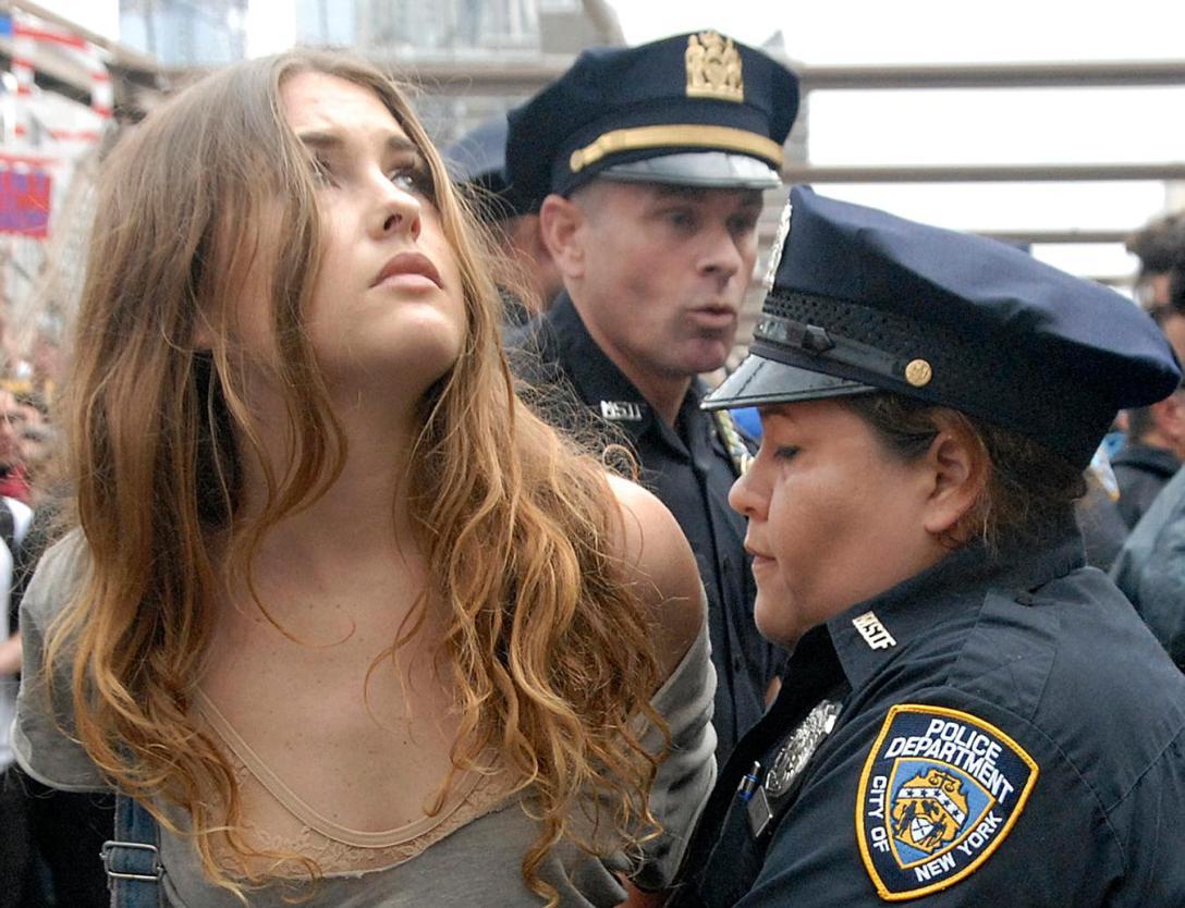 Joanna d'Wall Street. (fot. Stephanie Keith)