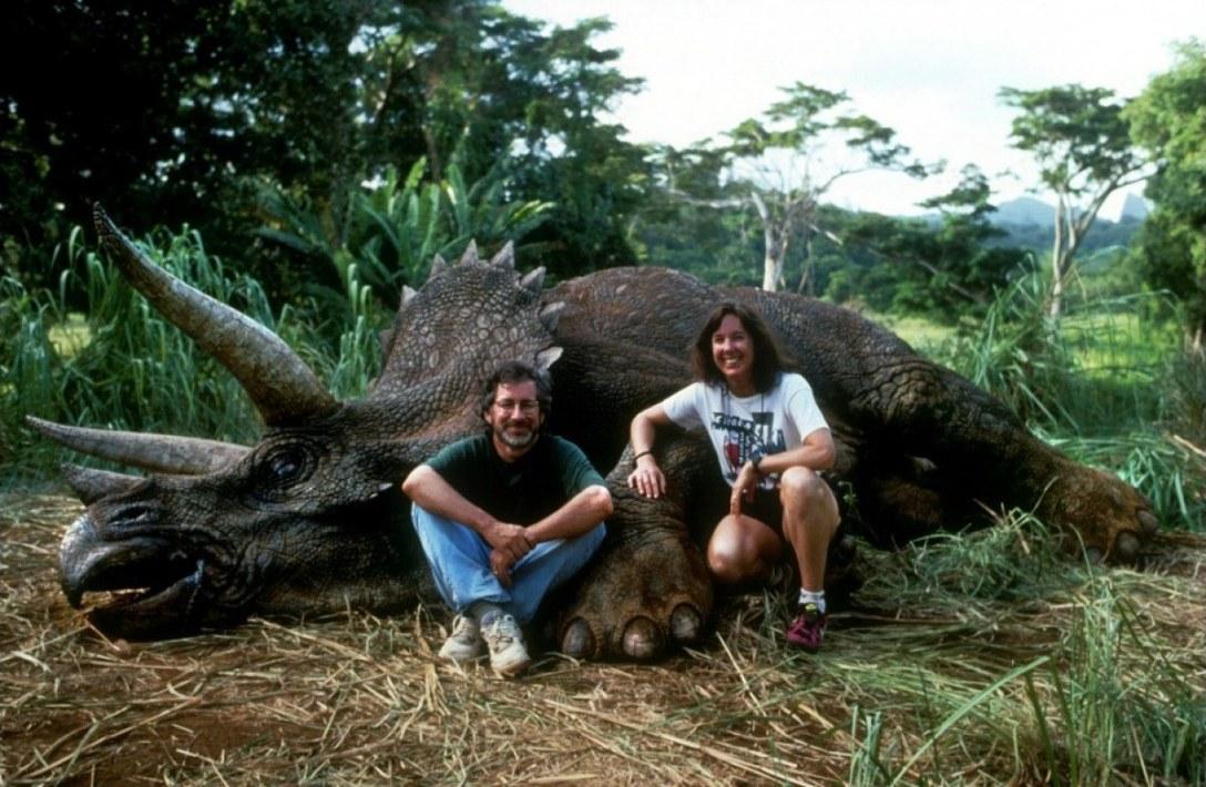 Steven Spielberg i Kathleen Kennedy