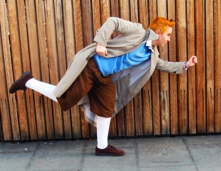 Nie każdy może być Tintinem (fot. KaoKoneko / DeviantArt)