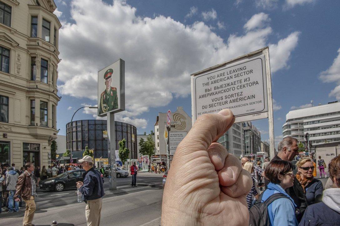 Granica amerykańskiego sektora w Berlinie