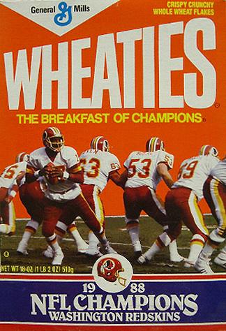 Nie wiem czy to przypadek, ale prawdziwego plakatu zapowiadającego XXII Super Bowl nie znalazłem nigdzie, a przeszukałem cały internet. Ostał się ino ten - po zwycięstwie Redskins.