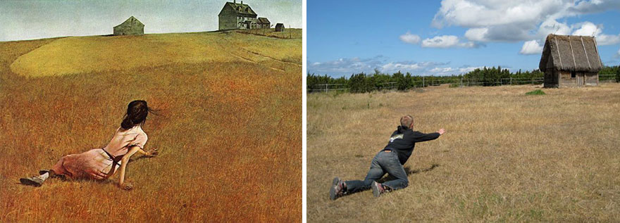 """Świat Christiny"", Andrew Wyeth"