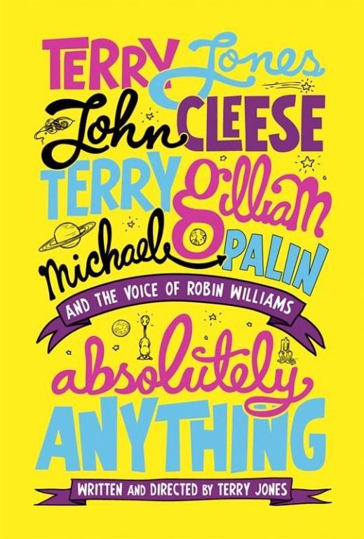 """Lekko oczojebny plakat """"Absolutely Anything"""""""