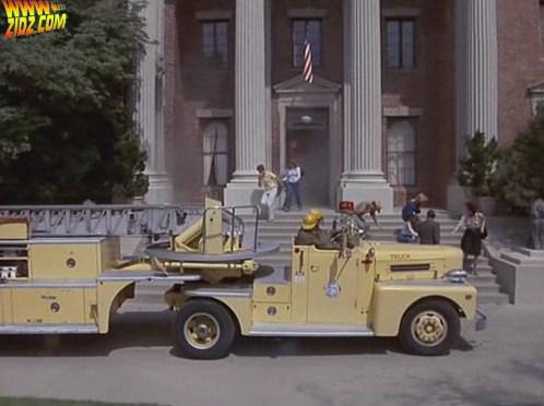 Jak widać straż pożarna zjawiła się w porę. Co ciekawe, kilka lat później już im się to nie udało.