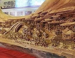 Największa drewniana rzeźba świata