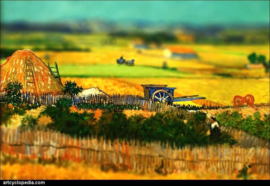 Vincent Van Gogh + Tilt-Shift