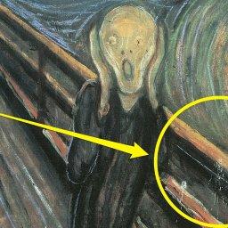 """Tajemnica dziwnych plam na obrazie """"Krzyk"""" Edvarda Muncha rozwiązana"""
