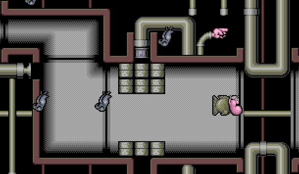 Skrzyżowanie Mario i dziwnych animacji Gilliama