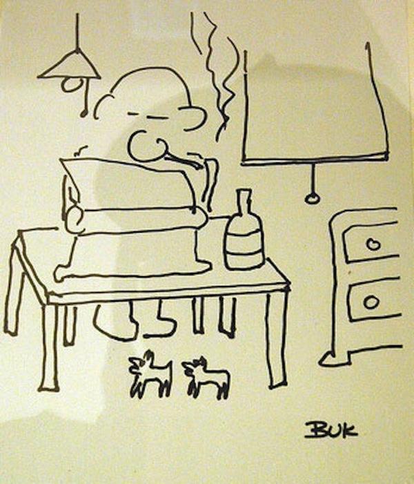 Charles Bukowski, data nieznana