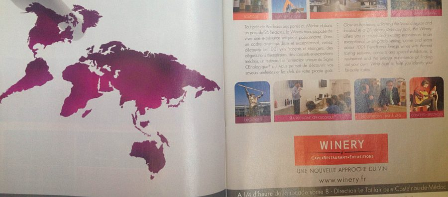 Broszura turystyczna związana z winiarstwem. Francuzi też nie lubią kiwi.