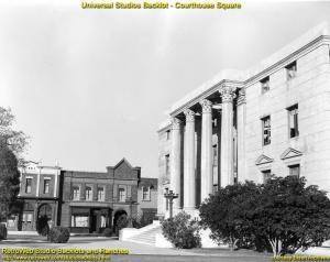 Fasada budynku sądu około roku 1962 (fot. Bison Archives)