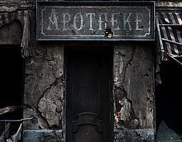Wojenna scenografia rosyjskiej wytwórni Mosfilm