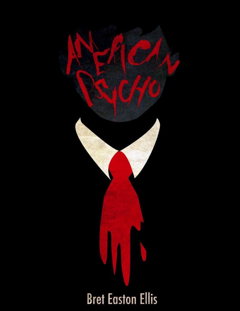 American Psycho z gustownym krawatem