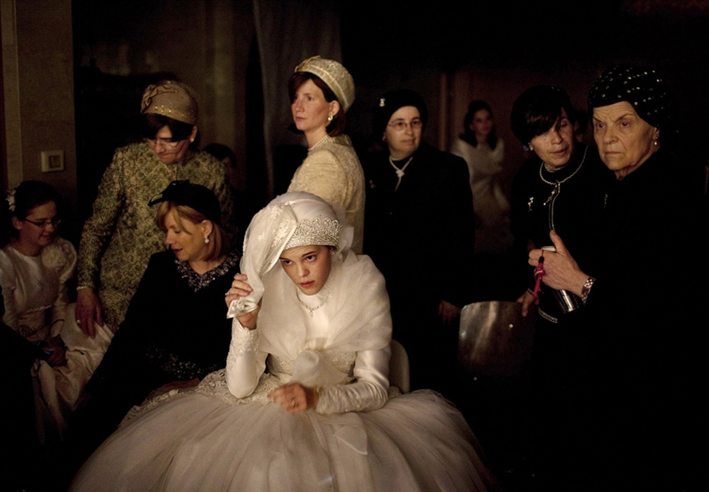 Wesele w ortodoksyjnej rodzinie żydowskiej. (fot. Abir Sultan)