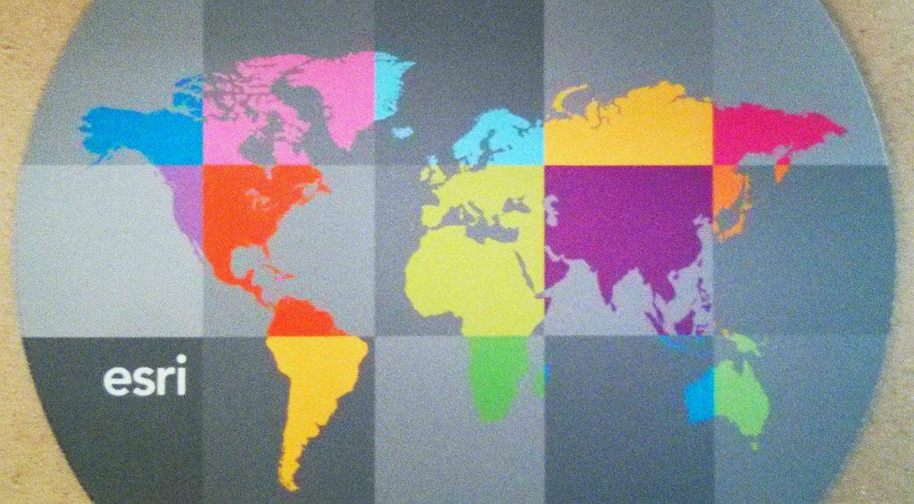 Dzieło firmy zajmującej się tworzeniem oprogramowania z mapami.