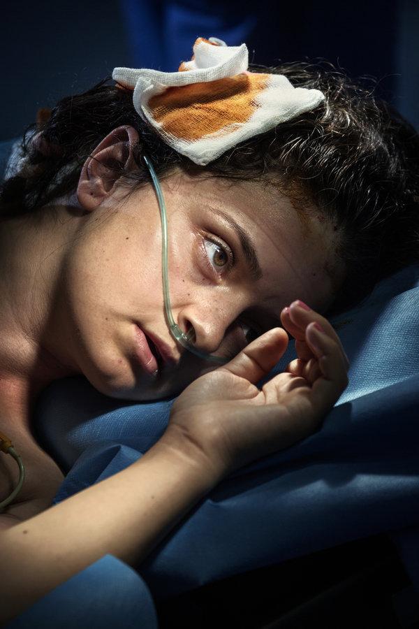 W oczekiwaniu na operację. (fot. Paolo Pellegrin)
