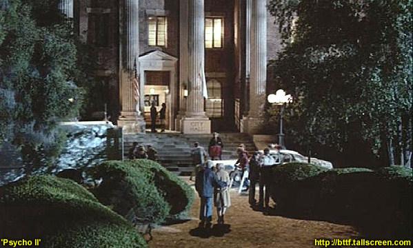 """W 1983 roku budynek sądu pojawił się w filmie """"Psychoza II"""" (tak, druga część TEJ """"Psychozy"""")"""
