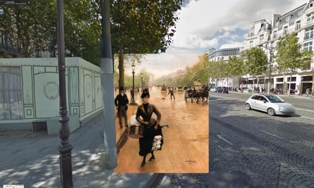 La Modiste Sur Les Champs-Élysées, Paryż, 1889, Jean Béraud