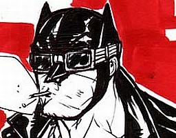 Batman w stylu rockabilly
