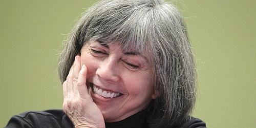 """Anne Rice podczas lektury """"50 twarzy Greya"""". Powaga."""
