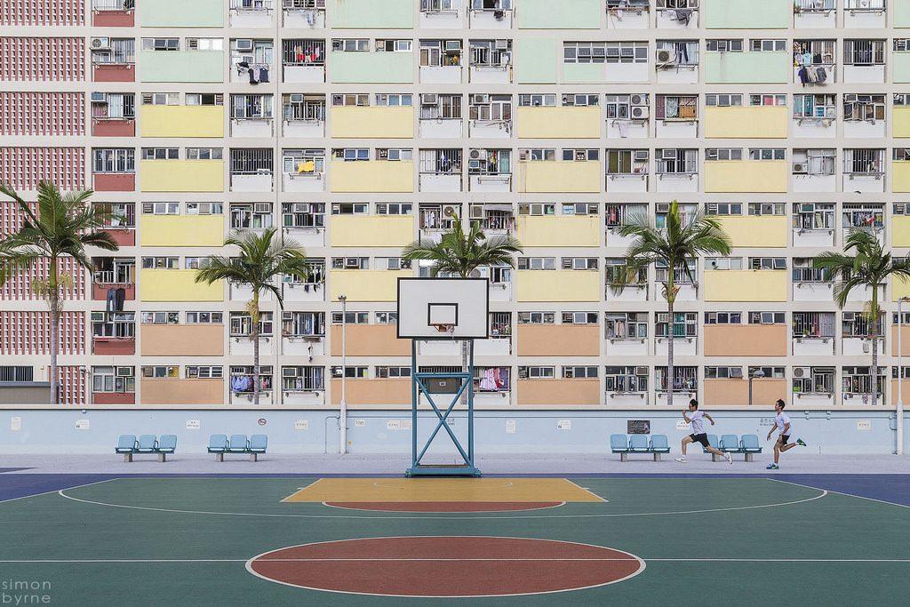 Blokowisko w Hong Kongu (fot. Simon Byrne)