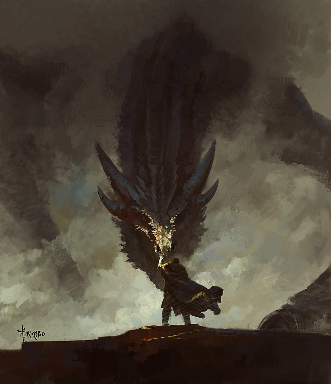 Chyba nie potrzebujemy już kolejnych dowodów na to, że Jon ma z Targaryenami więcej wspólnego, niż ze śniegiem. (autor: Bayard Wu)