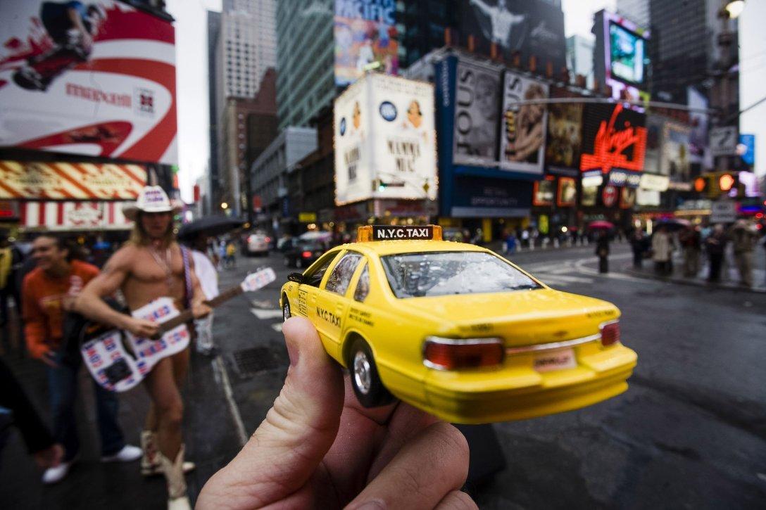 Nowojorska taksówka, USA