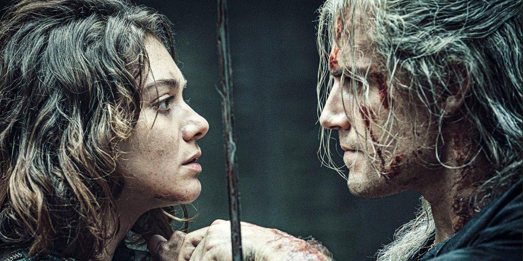 Wiedźmin - Renfri i Geralt