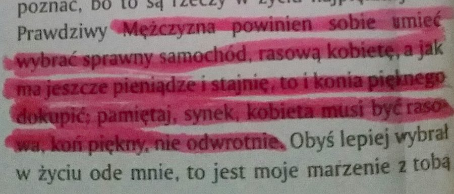 Gnój, Wojciech Kuczok
