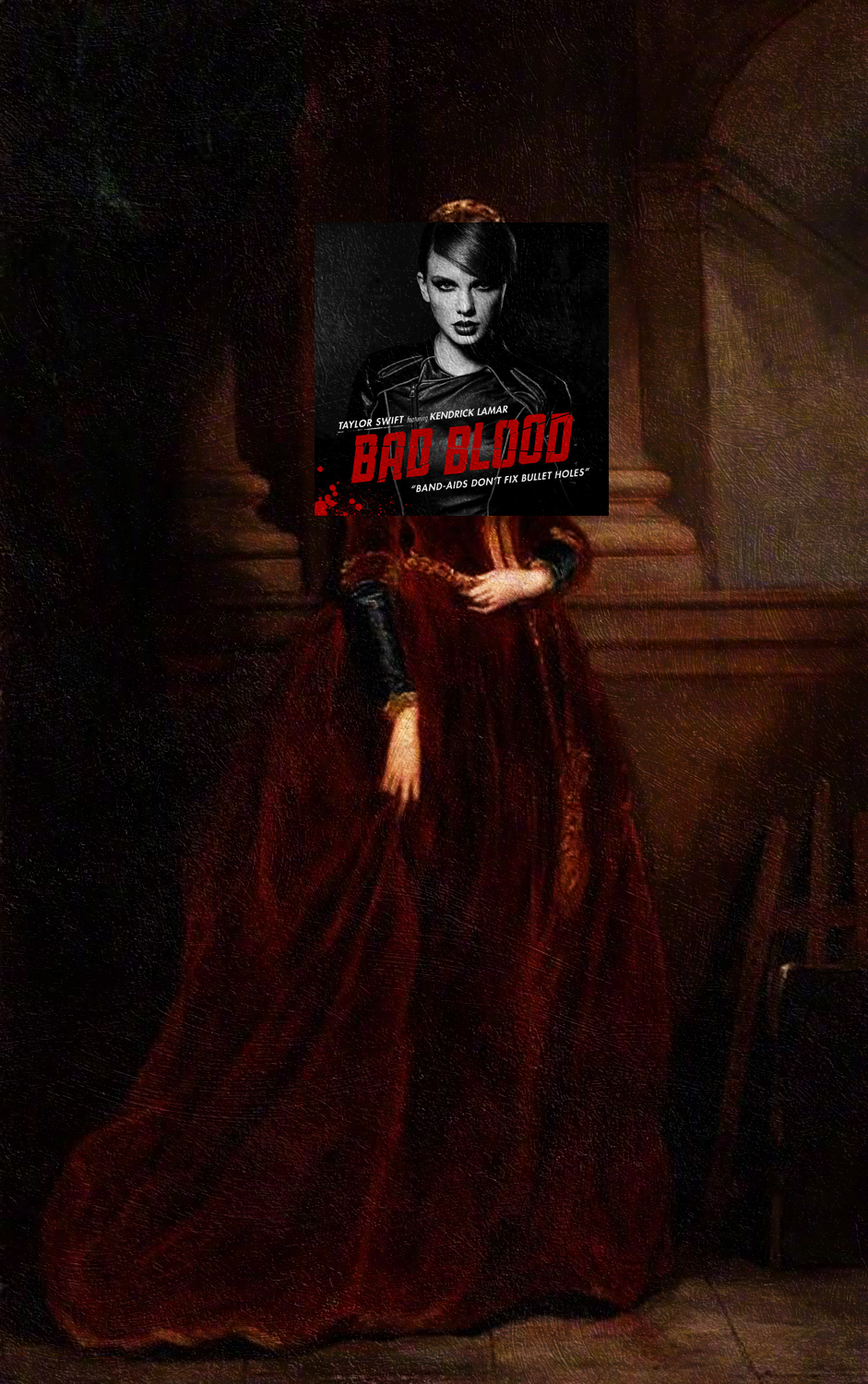 Bad Blood by Taylor Swift + Louisa, Marchioness of Waterford, Sir Francis Grant