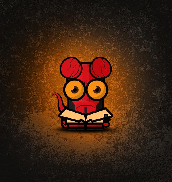 BigEyes-Hellboy