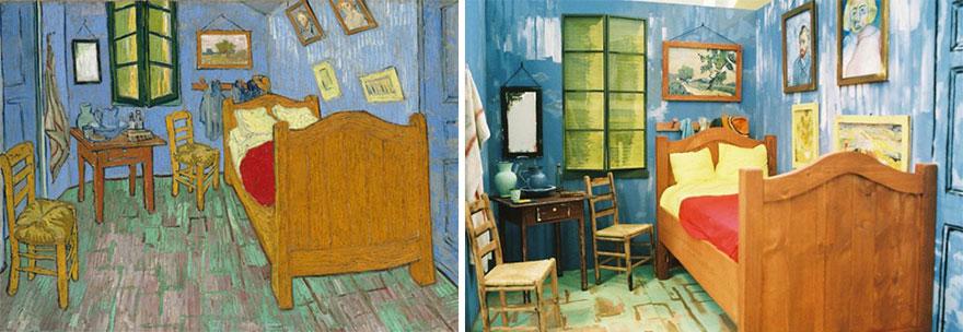 """""""Sypialnia w Arles"""", Vincent van Gogh"""
